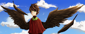 so i wanted to draw wings by Luskish