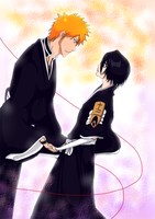 AT with Tomoyoyo: IchiRuki by Naru-Nisa