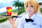KWMS: Usui Takumi The Waiter by darkdiety