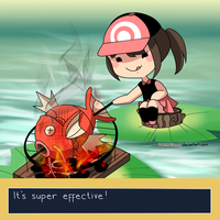 Cooking Magikarp by BlubberBunny
