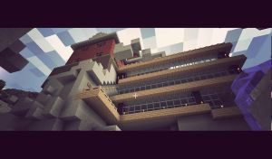 archiectural design minecraft by TearsOfry