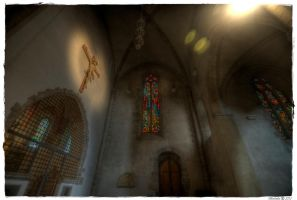 Sion Cathedral Interior II by Bodenlos