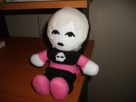 Rose Lalonde Plushie by ObscuredbyCloud
