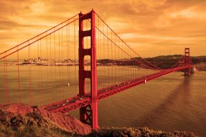 Golden gate by Allemanni