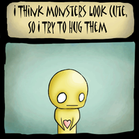 Pon and zi: Monsters by temp1o1