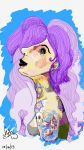 Purple Hair Don't Care by 4N63L-Z3R0