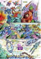 Uk G1 Untold Marvels Annual 2013 'The I' page 1 by M3Gr1ml0ck