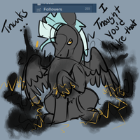 Thanks for 200+ by weepysheep