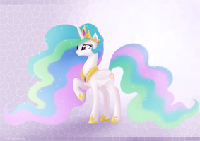 Princess Celestia by Mn27