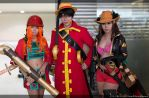 Nami, Luffy and Robin FIlm Z by infinity-myka