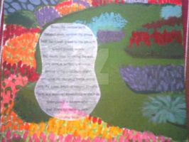 Garden Painting by wittlecabbage