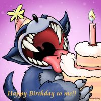 Happy Birthday to Werehog by Frankyding90