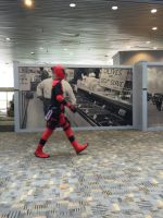 Dead pool at bronycon 2016  by brandonthebeast34