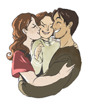Happy little family by kemiobsesses