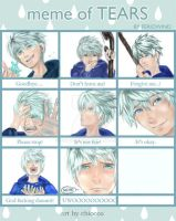 Meme of tears-Jack Frost by chiocco