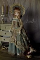 Antique Lady by AyuAna