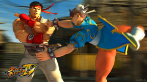 Street Fighter IV by James--C