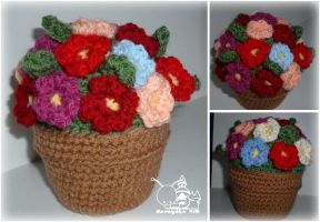 Crochet Flower by mui82