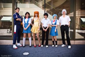 Only Freshmen - Evangelion by Mostflogged