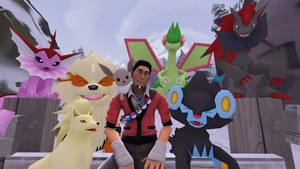 Toby and his Pokemon Team *TF2 SFM* by Tsuzumikin