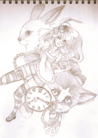 Alice in Wonderland by AlisonOT