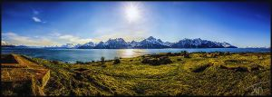 The Lyngenalps by torivarn