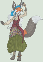 Contest: Gypsy Fox by SqueekyTheBalletRat