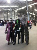 Armageddon 2014 - Me Star Lord and Groot by heidzdee818