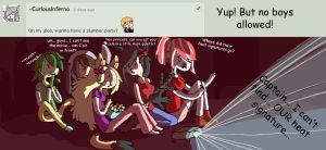 Question 46 Slumber Party by AskStelera