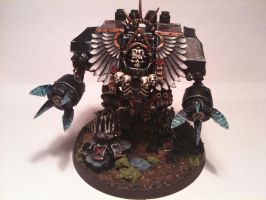 Death Company Dread Mardus by Stefoserpent