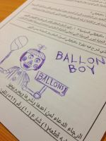 Balloon Boy  by HuswserStar