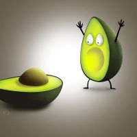 Oh No, Avocado! by StoobyToons