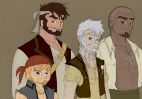 Concept: Capt.Synan's Crew by Charming-Manatee
