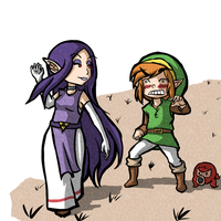 Link and Hilda 2 by Zeepla