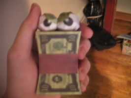 Conkers Angry Money Papercraft by YodersStuff