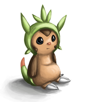Chespin by RedVinesareHappiness