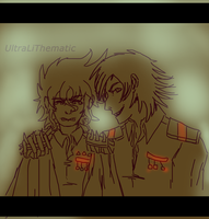Quick drawing: Just cross the borderline by UltraLiThematic