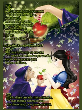 Snow White and the apple by Annrose001