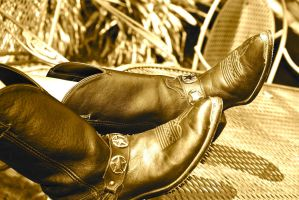 Cowgirl Boots by LX-SA-97