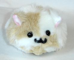 Fluffy Checkered Puff Puggle by callykarishokka