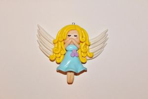 Praying Angel Charm by CharmStop