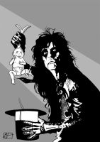 Alice Cooper, The Wizard by manuelgarcia