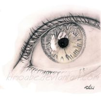 time on my eye by KIMoabe