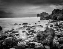 Solitude - Pano - Mono by Wayman