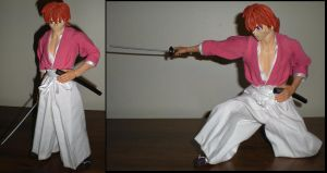 1:6th scale Kenshin Himura by future-trunks