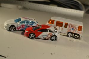 Custom Itasha Hot Wheels by Anths95