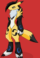 My Renamon by Fleetwaysonic64