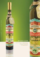Gelenbey OliveOil Label by byZED