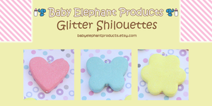 .: Glitter Silhouettes :. by moofestgirl