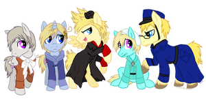 MLP Hetalia: The Nordics by xXCystalTheWolfXx